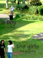 a boy and the girls by dhilaemon