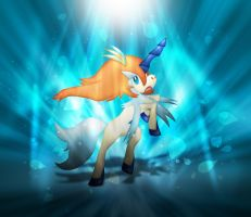 Keldeo (Resolution Form)  the Shining prince by jot202