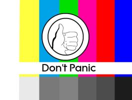 Don't Panic Test Pattern by systemcat