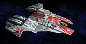 Tac Bat painted by MikeMars by Scifiwarships