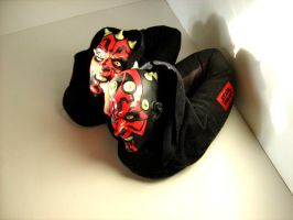 Maul Slippers by EdVilla