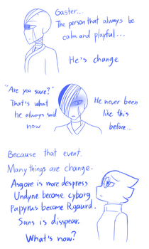 [Infinitytale] A Change by FukuroMami555
