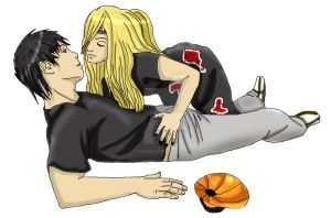 Deidara x Tobi- Art Trade by DorianHarper