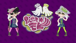 Squid Sisters Wallpaper by Doctor-G