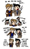 SPN SPOILERS: Are you God? by blackbirdrose