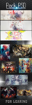 Pack PSD by LarAmb