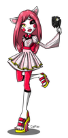 Mangle in Monster High by C-a-t-P-a-w