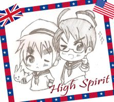 Sailor Hetalia - High Spirit by LorraineSophia