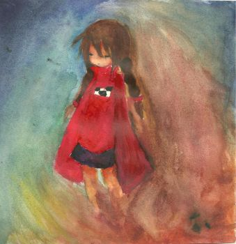 Yume Nikki water color by Salazar-lover