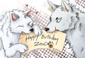Happy Birthday Zencelot by Galecoroco