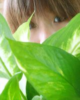 I Like Smelling Leaves by xiaomei