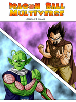 DBM Nail Vs King Vegeta by BK-81