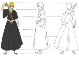 how to draw bleach charaters by nxz-10E