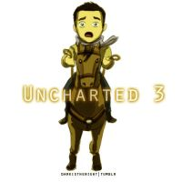 Uncharted 3 - Nathan Drake Chibi by scorcher