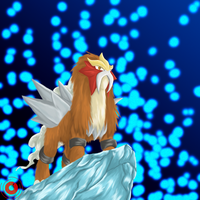 Entei by DemonNagareboshi