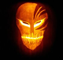 Hollow Mask LIT PUMPKIN STYLE by JaggedHammer