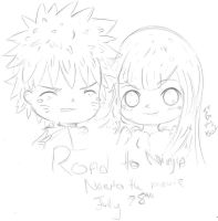NH-Road to Ninja Naruto the movie Is out! by NelNel-Chan