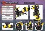 Pokeventure Torichi Ref 2015 by BlackFoxCenco