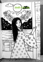 #95 Princess Kaguya by Doodle-of-the-day