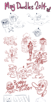 May Doodles 2014 by TopperHay