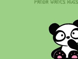 Panda Wallpaper by captain-farand