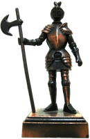 Armored Knight cutout by oilusionista-stock