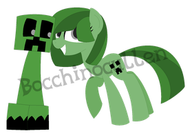 .:DOLL:. Double Creeper, Oh My God! by Bocchinocullen