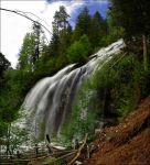 Silver Falls by NWunseen