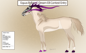Dream EB contest entry - Desert Mare by DemiWolfe