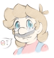 Mario Doodle by Sugared-Almond