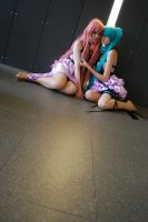 Dolls on the floor by CatRubi