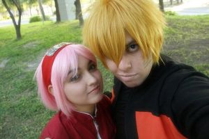 Narusaku by PrisCosplay