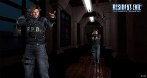 Leon Kennedy-MemoryLostCity-Re dsc (xps) by ChrisTalyus