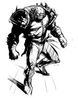Half Orc Design by ScottPurdy