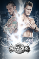 WWE Night Of Champions 2012 Custom Poster by skilled97