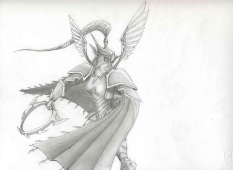 Maiev Shadowsong by Sabwise