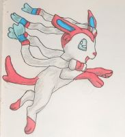Sylveon by Colliequest