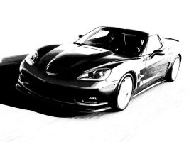 Corvette ZR1 2009 III by SilverNecklace