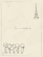 SHINee in Paris by anhvan44