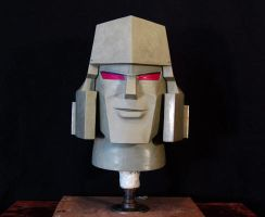 Megatron Sculpture by AfterlightRob
