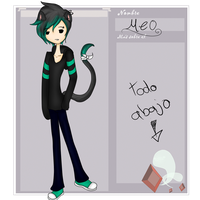 Ficha  Adventure Time Rol  Villanos Meo by alizoon98