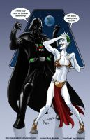 TLIID 262. Darth Vader vs The Joker by AxelMedellin