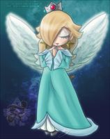 Rosalina The Angel by Lady-Zelda-of-Hyrule