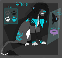 Commission - Kaitori Reference Sheet 2014 by Rattenmutter