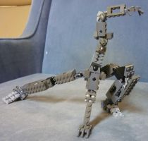 Lego mech frame version 8 by mithrylaltaire