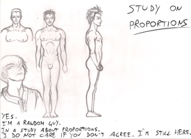 Study on proportions by Dex91