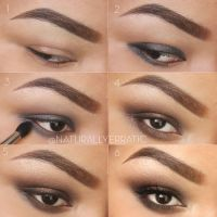 Brown Smokey eye by NaturallyErratic