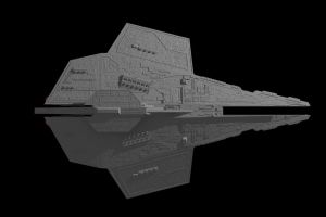 Deviant-Class Star Destroyer by ExoticcTofu