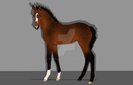 Hanoverian foal SOLD by EddieLover