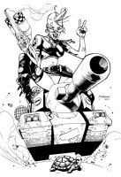 Tank Girl by MahmudAsrar